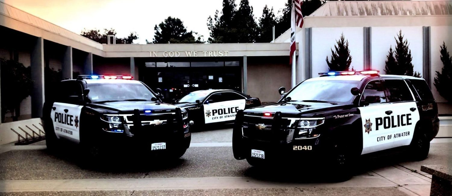 Atwater Police Department Car Photo